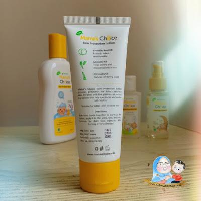 lotion anti nyamuk aman untuk bayi
