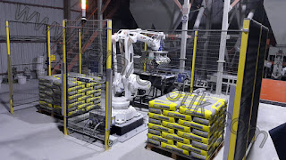 Yapi Kimyasallari Paletleme Robotu