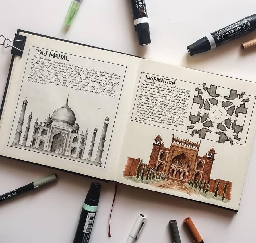07-Taj-Mahal-India-Oğuzhan-Çengel-www-designstack-co