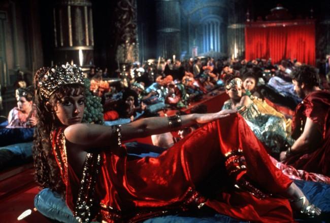 Roman orgy at caligulas court 9