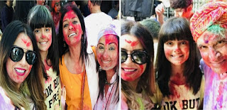 Mahima choudhary with family