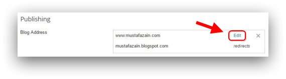 Blogspot Redirect non ww ke www