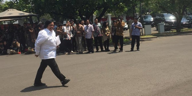 Calon Menteri Jokowi dari NasDem, Siti Nurbaya Tiba di Istana Negara