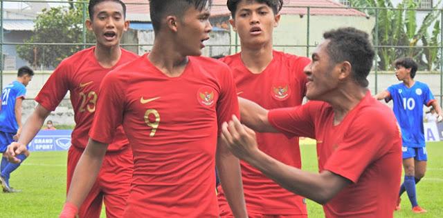 Bayar Tuntas Kegagalan Di Semifinal, Timnas U-18 Gulung Myanmar 5-0