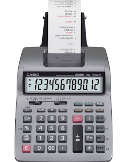 Kalkulator printing