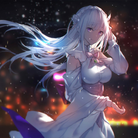 Re ZERO - Starting Life In Another World - Emilia №3 Wallpaper Engine