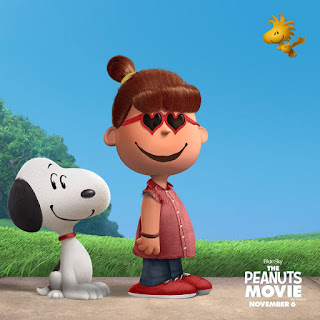 Snoopy and girl character