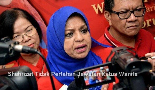 Shahrizat tidak pertahan jawatan ketua wanita