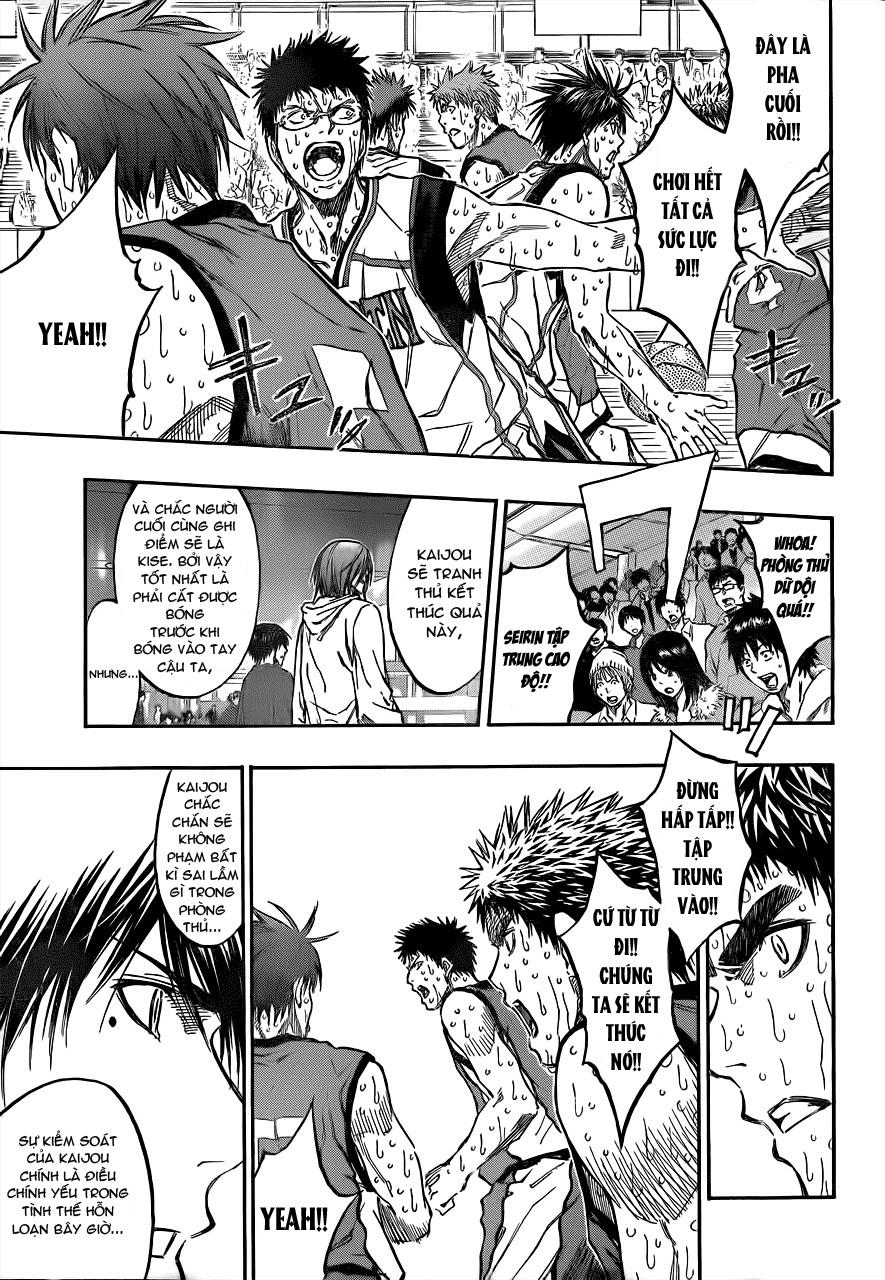 Kuroko No Basket chap 201 trang 3