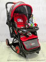 Pliko PK388R Monza - Rocker Baby Stroller