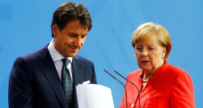 Merkel-Conte: è scontro sul Mes