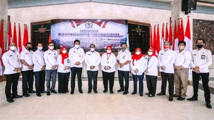 Pemimpin dan Agen Perubahan Sekretariat Jenderal DPD RI 2021-2022 Dikukuhkan