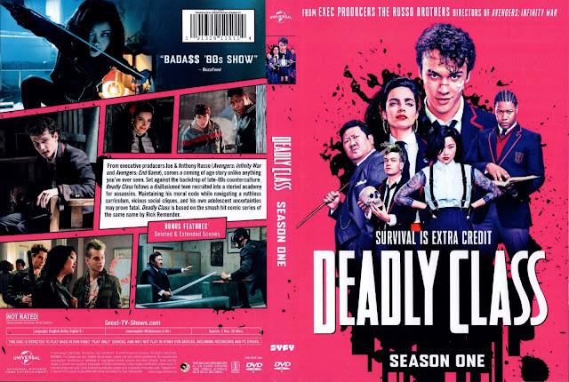 Deadly Class Season 1 DVD Cover