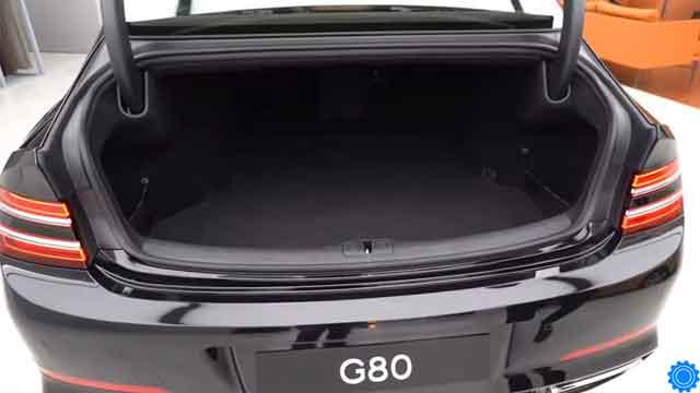 جينيسيس G80 2021 من الداخل