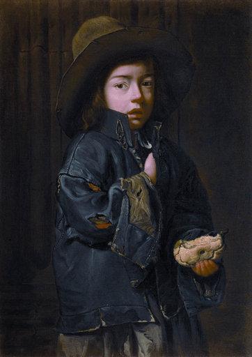 Lukisan seseorang yang mengenakan denim
