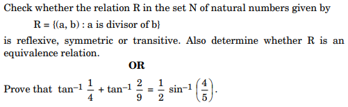 ncert solution class 12th math Question 27
