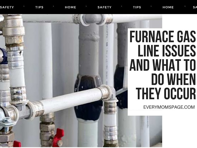 Furnace Gas Line Issues and What to Do When They Occur