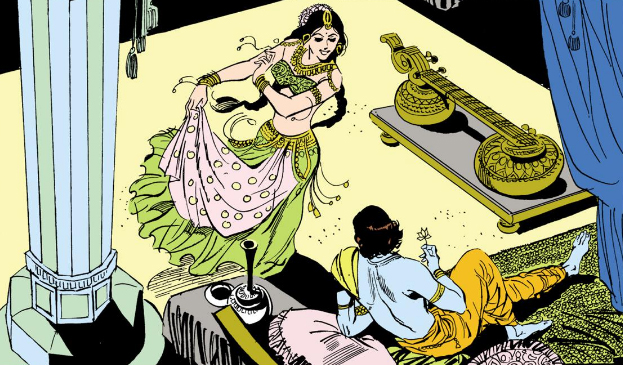 Usha and Aniruddha