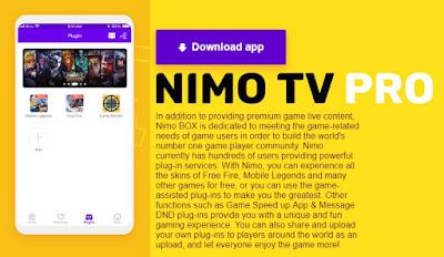 Download Nimo Box Apk Free Skin Versi Terbaru
