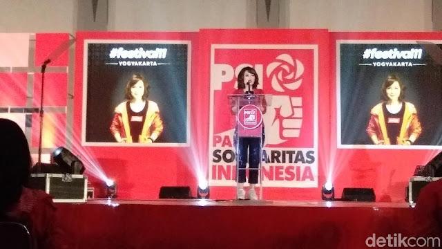 PSI vs PD yang Tertawakan Pidato Grace Natalie