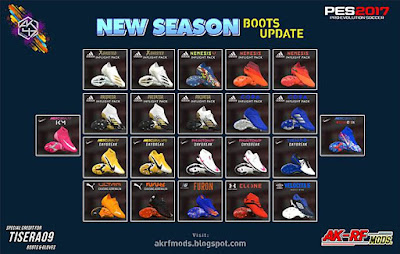 Boots Pack Update Season 2020/2021 PES 2017
