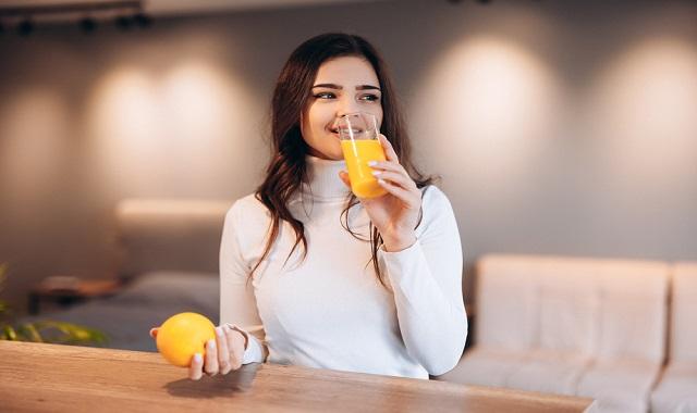 فوائد عصير البرتقال للنساء