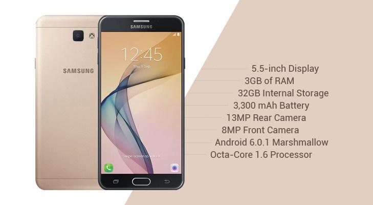 Spesifikasi dan Harga Terbaru Samsung Galaxy J7 Prime