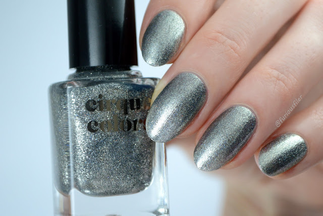 cirque colors shiny swatch metallic holo silver