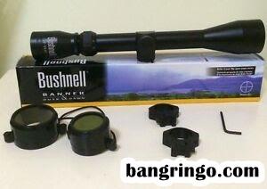 Kelengkapan Teleskop Senapan Bushnell 3-9x40 Eg