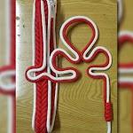 Tali Komando Pramuka Putih Merah