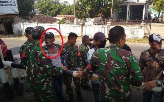 Preman di Garut Serang Markas TNI dan Polisi, Anggota Polri Nyaris Dibacok