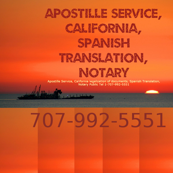 Sacramento Mobile Notary California documents\' Apostille | Apostille ...