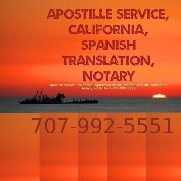 Sacramento Mobile Notary California documents\' Apostille | Apostille ...
