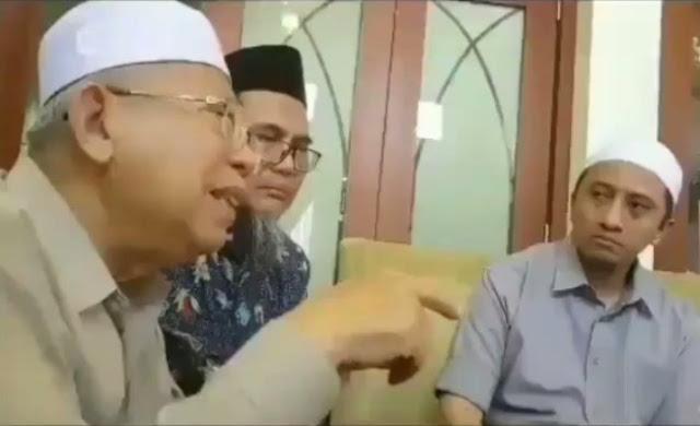 """Video Maruf Amin Kembali Viral, """"Ahok itu Sumber Konflik, Maka itu Harus Kita Habisi..."""""""