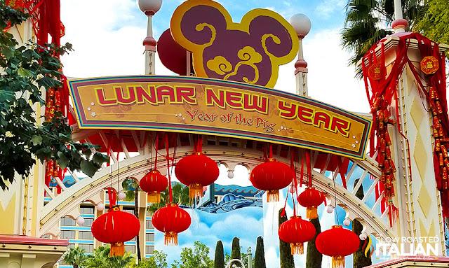 Disneyland Lunar New Year