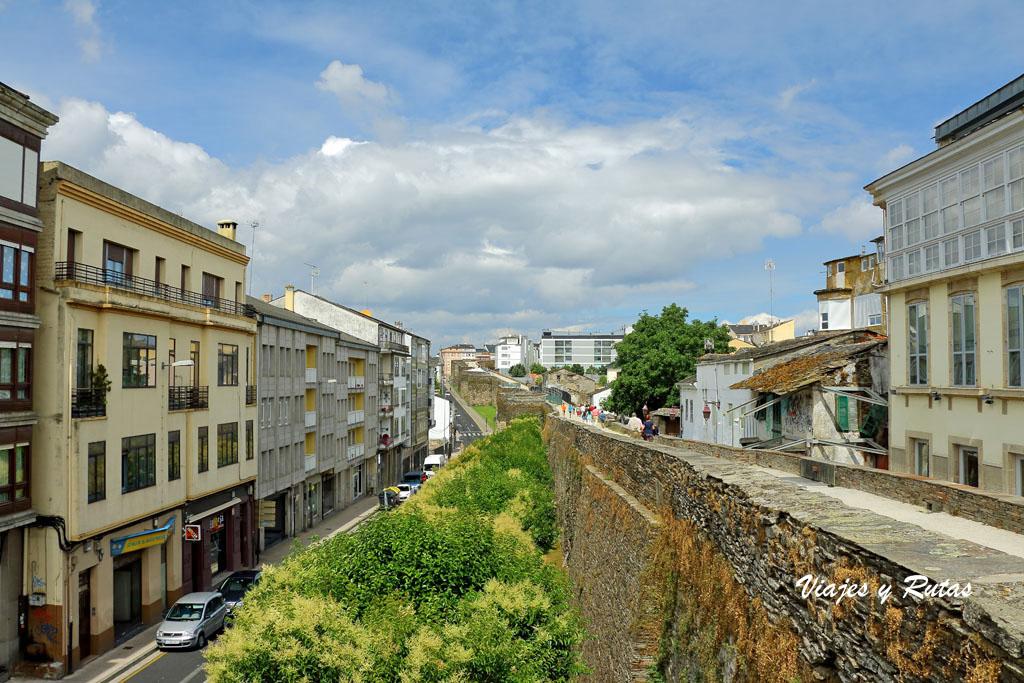 Muralla de la ciudad de Lugo