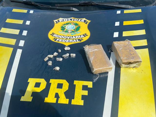 PRF prende dupla por tráfico de drogas em Mossoró, RN