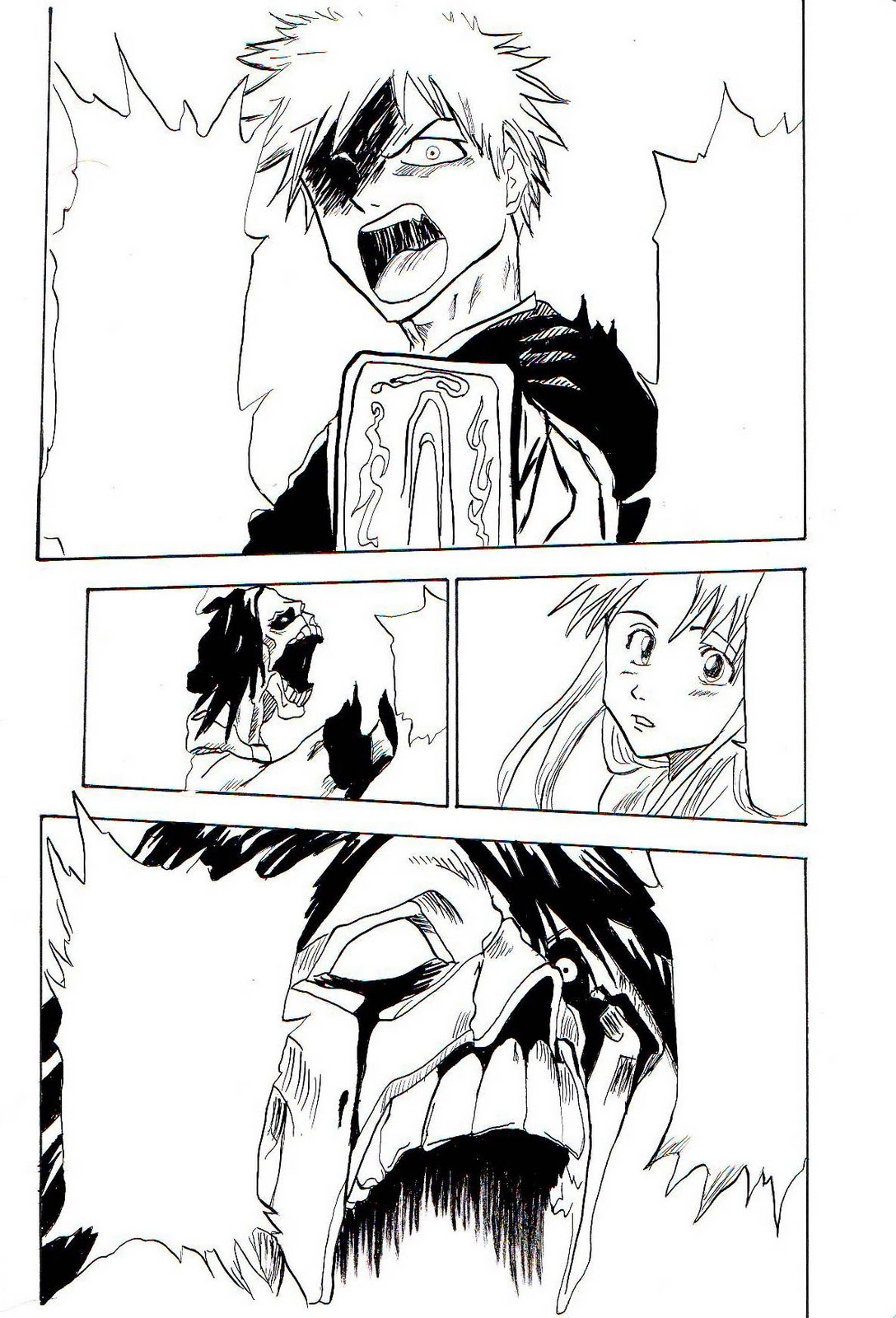 Tsuyu No Fantasy Esercitazione Tavole Manga