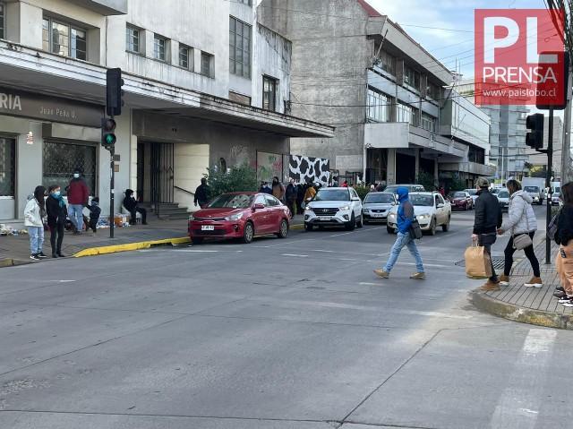 Osorno: estacionamiento Av. Mackenna serán trasladados