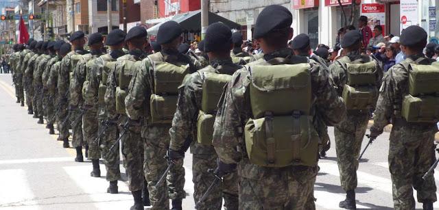 Servicio militar obligatorio y prestaciones personales obligatorias