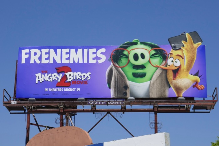 Angry Birds Movie 2 extension billboard