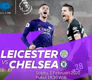 Tonton Live Streaming Leicester Vs Chelsea di Ponsel Melalui Mola TV
