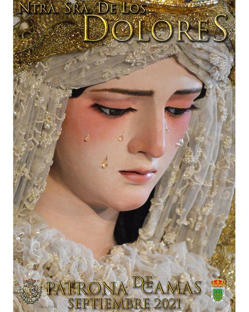 Cartel de la Virgen de los Dolores, Patrona de Camas 2021
