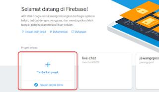 Cara Mudah Membuat Database Dengan Firebase Yang Realtime