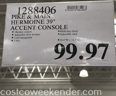 Deal for the Pike & Main Hermoine Accent Cabinet at Costco