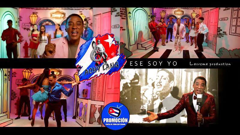 Achy Lang - Ese soy yo - Videoclip. Portal Del Vídeo Clip Cubano. Música popular bailable cubana. Rumba. Cuba.