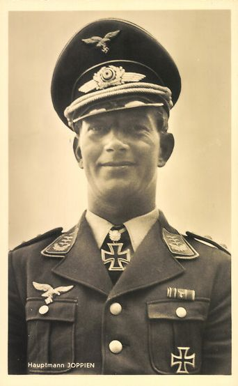 Luftwaffe ace Jupp Joppien, KIA 28 August 1941 worldwartwo.filminspector.com