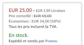 Boutique Praxeo en ligne (sur Amazon)