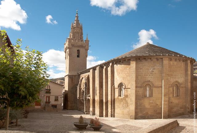 Iglesia Uncastillo Zaragoza Aragon