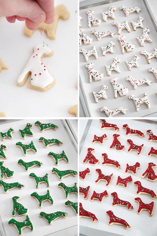 Замороженное печенье с животными